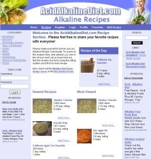 Alkaline recipes alkaline foods alkaline diet alkaline recipes database forumfinder Gallery